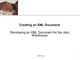 XML - Centennial College