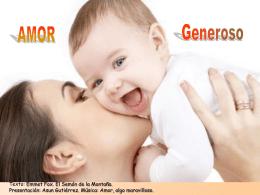 AMOR GENEROSO - Catequesis y Evangelizacion