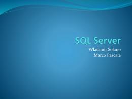SQL Server 2008 - ABD-UCV