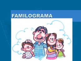 FAMILOGRAMA