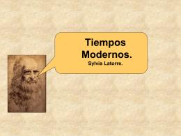 Tiempos modernos. - Colegio San Juan Evangelista