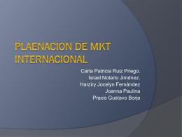 Sistemas de Mercadotecnia Internacional.