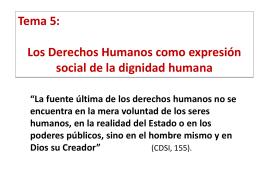 Derechos humanos en la Biblia