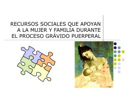 RECURSOS SOCIALES QUE APOYAN EL PROCESO …