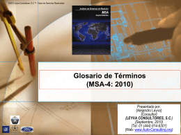 10 - MSA-4: 2010 - Auto Consulting