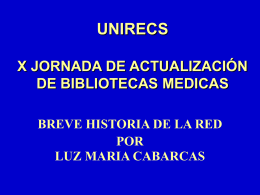 RED DE BIBLIOTECAS MEDICAS DE COLOMBIA