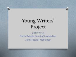 Young Writers' Project