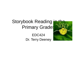 Storybook Reading in the Primary Grades