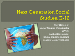 Next Generation Social Studies, K-5