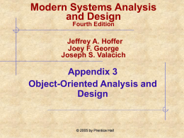 Modern Systems Analysis and Design Appendix 3