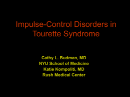 Impulse-Control Disorders
