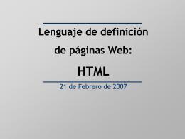 HTML - Arabako Campusa