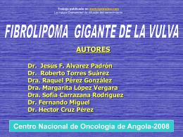 FIBROLIPOMA DE LA VULVA