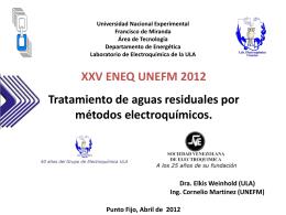 Universidad de los Andes Facultad de Ciencias …
