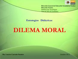 DILEMA MORAL - tecnologiaytecnica85
