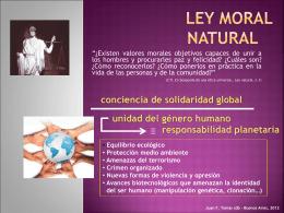 Ley moral natural