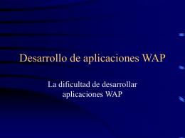 WAP/UMTS/iTV - IUA