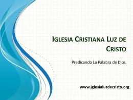 www.iglesialuzdecristo.org