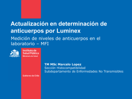 ppt institucional - Sociedad Chilena de Trasplante