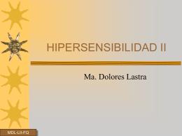 HIPERSENSIBILIDAD II
