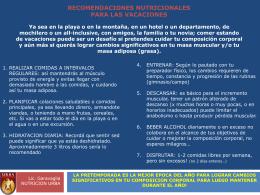 TIPS PARA EL JUGADOR DE RUGBY NUTRICION: …