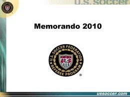 Memorandum 2010 SPA