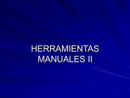 2 ERGONOMIA. HERRAMIENTAS MANUALES pw