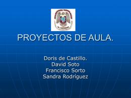 PROYECTOS DE AULA.