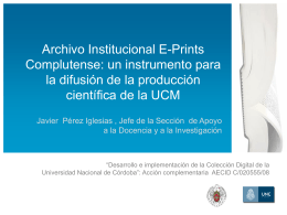 Archivo Institucional E