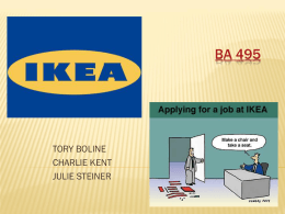 IKEA - Oregon State University