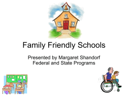 Family Friendly Schools - School District of Palm Beach …