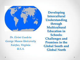 Redefining Multicultural Education in Global Context for
