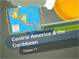 Central America & the Caribbean