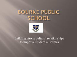Bourke Public School - Centre for Education Statistics and