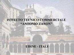 """ISTITUTO TECNICO COMMERCIALE """"ANTONIO ZANON"""""""
