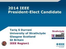 2014 IEEE President
