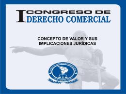 CONGRESO COLEGIO DE ABOGADOS COMERCIALISTAS …