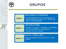 ETAPA DE PREPARACION DE NIIF PARA PYMES