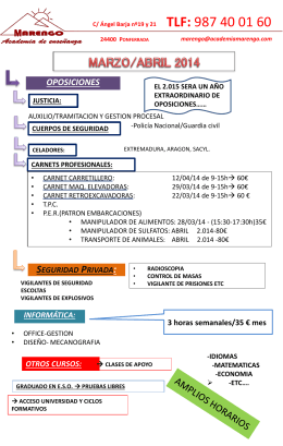 Diapositiva 1 - Academia Marengo