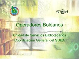 Operadores Boleanos
