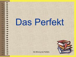 Das Perfekt - INTEF