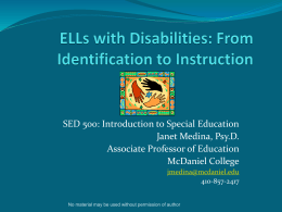Navigating the IEP Process for ELLs with Language