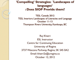 Comprehensive Engagement and SLA
