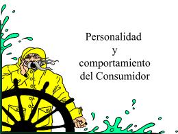 Personalidad y comportamiento del Consumidor