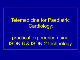 Telemedicine for Paediatric Cardiology: practical