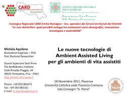 Diapositiva 1 - Azienda Usl di Piacenza