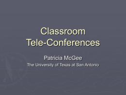 Classroom Tele