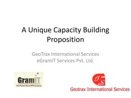 GeoTrax – eGramIT