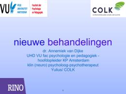 nieuwe behandelingen - Nederlands Instituut van …