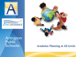 Annual Report on Academic Supports PreK to 5